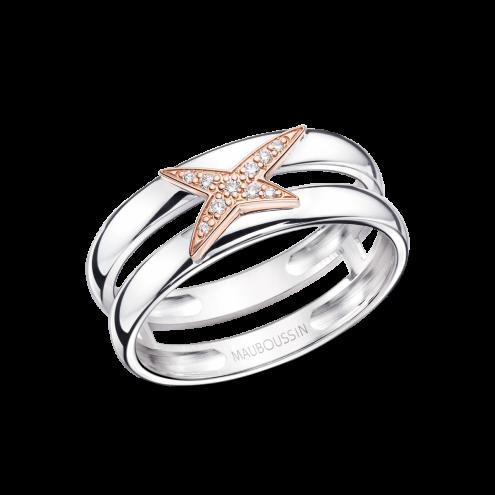 Anello Etoilement D, oro rosa