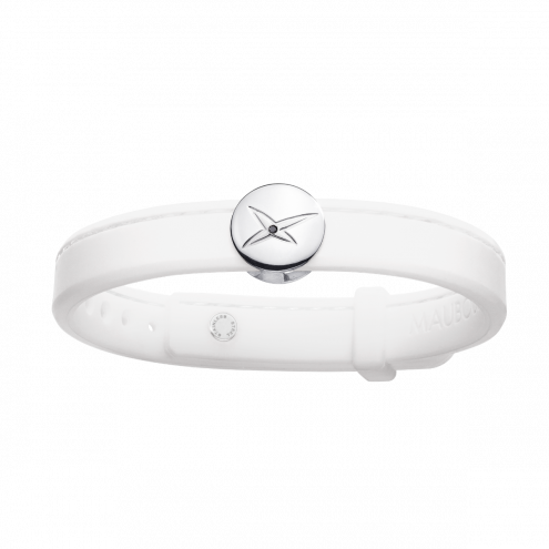 Bracciale Leonard and Suzan of the Valley bianco, argento, donna