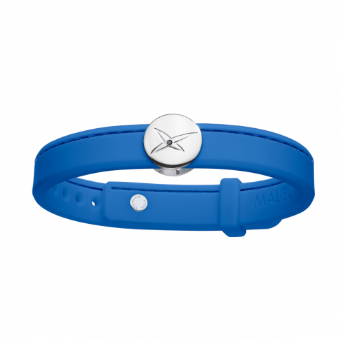 Bracciale Leonard and Suzan of the Valley blu, argento, donna