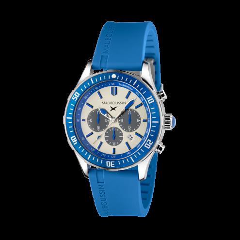 Orologio Bande d'Arrêt d'Urgence blu