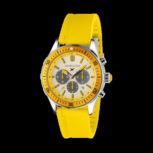 Orologio Bande d'Arrêt d'Urgence giallo