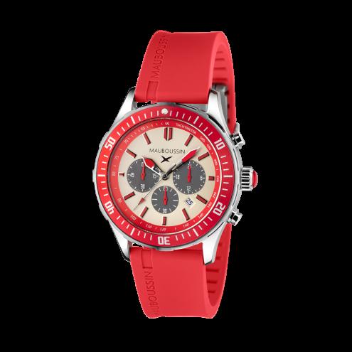 Orologio Bande d'Arrêt d'Urgence rosso